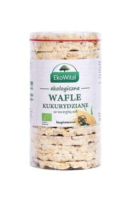Maiswaffeln mit Salz Gluten-frei BIO 110 g EkoWital