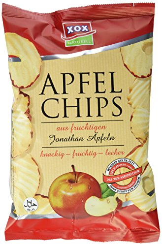 XOX Apfelchips Jonathan, 9er Pack (9 x 40 g)