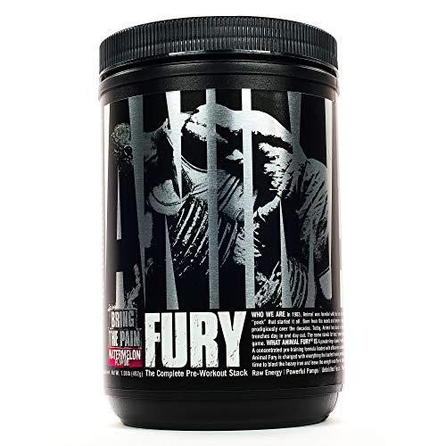 Universal Nutrition Animal Fury Pre-Workout Booster Trainingsbooster 480g (Watermelon - Wassermelone)